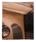 1941 Packard Darrin Victoria Convertible Fleece Blanket