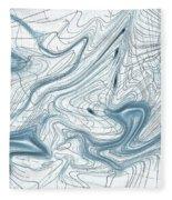 Abstract Pattern Art Fleece Blanket