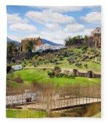 Andalusia Landscape Fleece Blanket