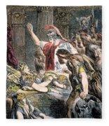 Antony & Cleopatra Fleece Blanket