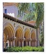 Balboa Park Arches Fleece Blanket