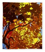 Beautiful Fall ... Fleece Blanket