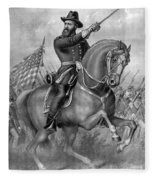 Benjamin Harrison, 23rd American Fleece Blanket