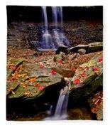 Blue Hen Falls Fleece Blanket