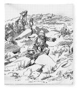 Boer War, 1899 Fleece Blanket