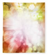 Bright Background Fleece Blanket