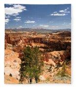 Bryce Canyon Amphitheater Fleece Blanket