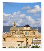 Cathedral Mosque Of Cordoba Fleece Blanket