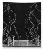 Cathode Ray Tubes Fleece Blanket