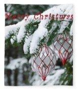 Christmas Card 2194 Fleece Blanket