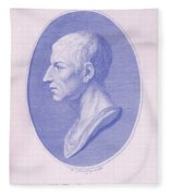 Cicero, Roman Philosopher Fleece Blanket
