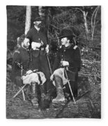 Civil War: Custer, 1862 Fleece Blanket