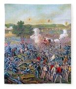 Civil War: Gettysburg, 1863 Fleece Blanket