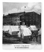 Civil War: Libby Prison Fleece Blanket