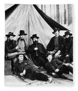 Civil War: Soldiers Fleece Blanket