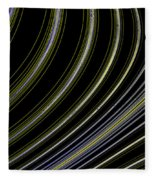 Curve Art Fleece Blanket