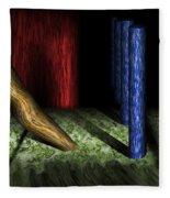 Dali's Columns Fleece Blanket
