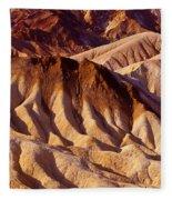 Death Valley Fleece Blanket