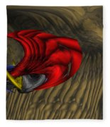 Deep Explorations Fleece Blanket