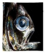 Deep Sea Hatchetfish Fleece Blanket