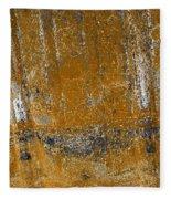 Detail Of Burnt Building Fleece Blanket