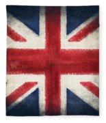 England Flag Fleece Blanket