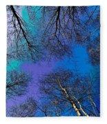 Epping Forest Art Fleece Blanket