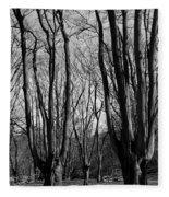 Epping Forest Fleece Blanket