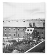 Execution Of Conspirators Fleece Blanket