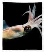 Eye Flash Squid Fleece Blanket
