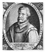 Ferdinand Magellan Fleece Blanket