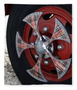 Fire Truck Spinners Fleece Blanket