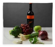 Foods Rich In Quercetin Fleece Blanket