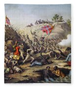 Fort Pillow Massacre, 1864 Fleece Blanket