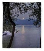 Full Moon Fleece Blanket