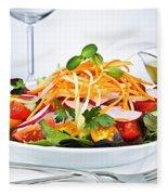 Garden Salad Fleece Blanket
