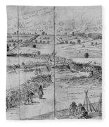 Gettysburg, 1863 Fleece Blanket