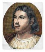 Giovanni Boccaccio Fleece Blanket