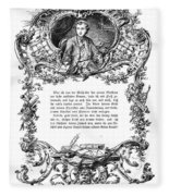 Goethe: Werther Fleece Blanket