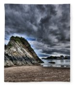 Goscar Rock Tenby Fleece Blanket