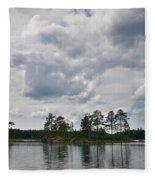 Haukkajarvi Fleece Blanket