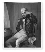 Horatio Nelson (1758-1805) Fleece Blanket