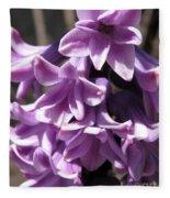 Hyacinth Named Splendid Cornelia Fleece Blanket