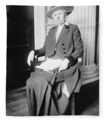Ida M. Tarbell (1857-1944) Fleece Blanket