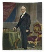 James Buchanan (1791-1868) Fleece Blanket
