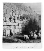 Jerusalem: Wailing Wall Fleece Blanket
