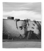 Johnny Cash Fleece Blanket