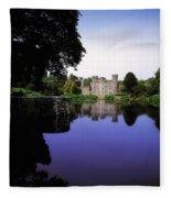 Johnstown Castle, Co Wexford, Ireland Fleece Blanket