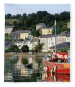 Kinsale Harbour, Co Cork, Ireland Fleece Blanket