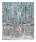 Lake Martin Swamp Fleece Blanket